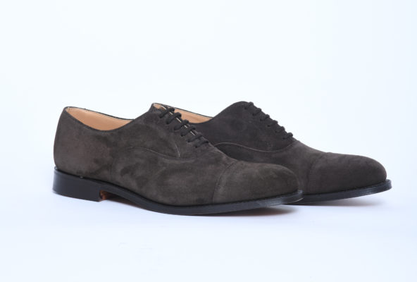 brown suede men's oxford shoes