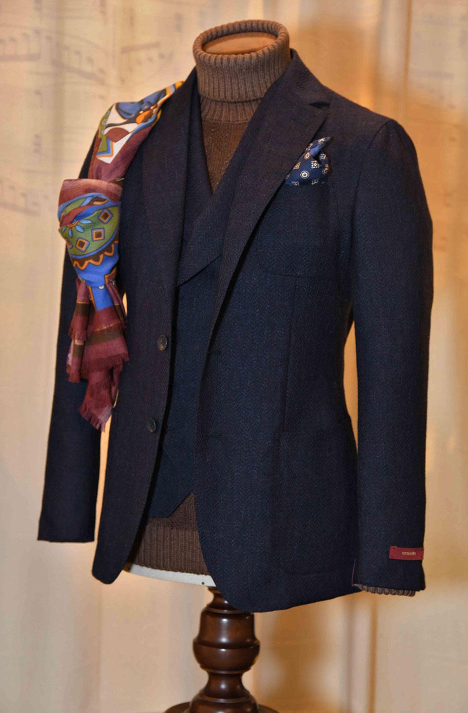 giacca con maglioncino