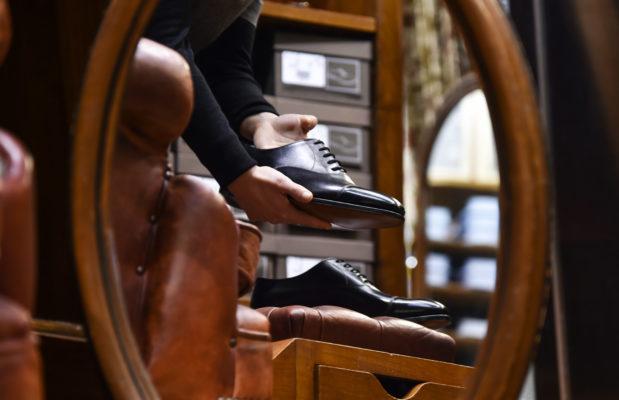 Scarpe nere allacciate uomo jhon lobb||scarpe uomo pelle nere doppia fibbia|