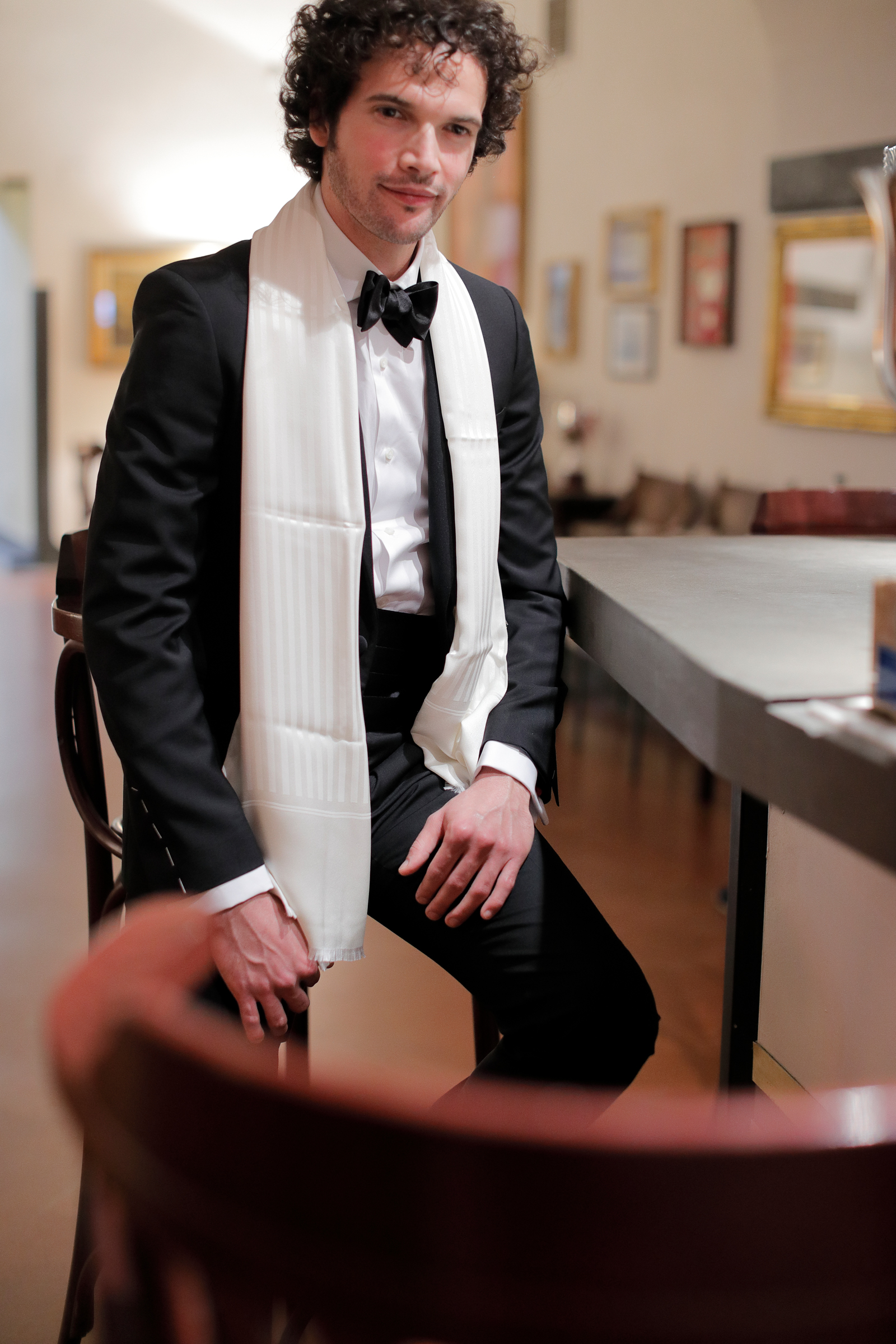 man with a tuxedo