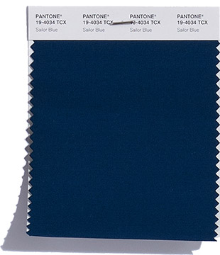 Colore Pantone Sailor Blue