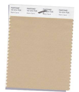 Warm sand Pantone Color