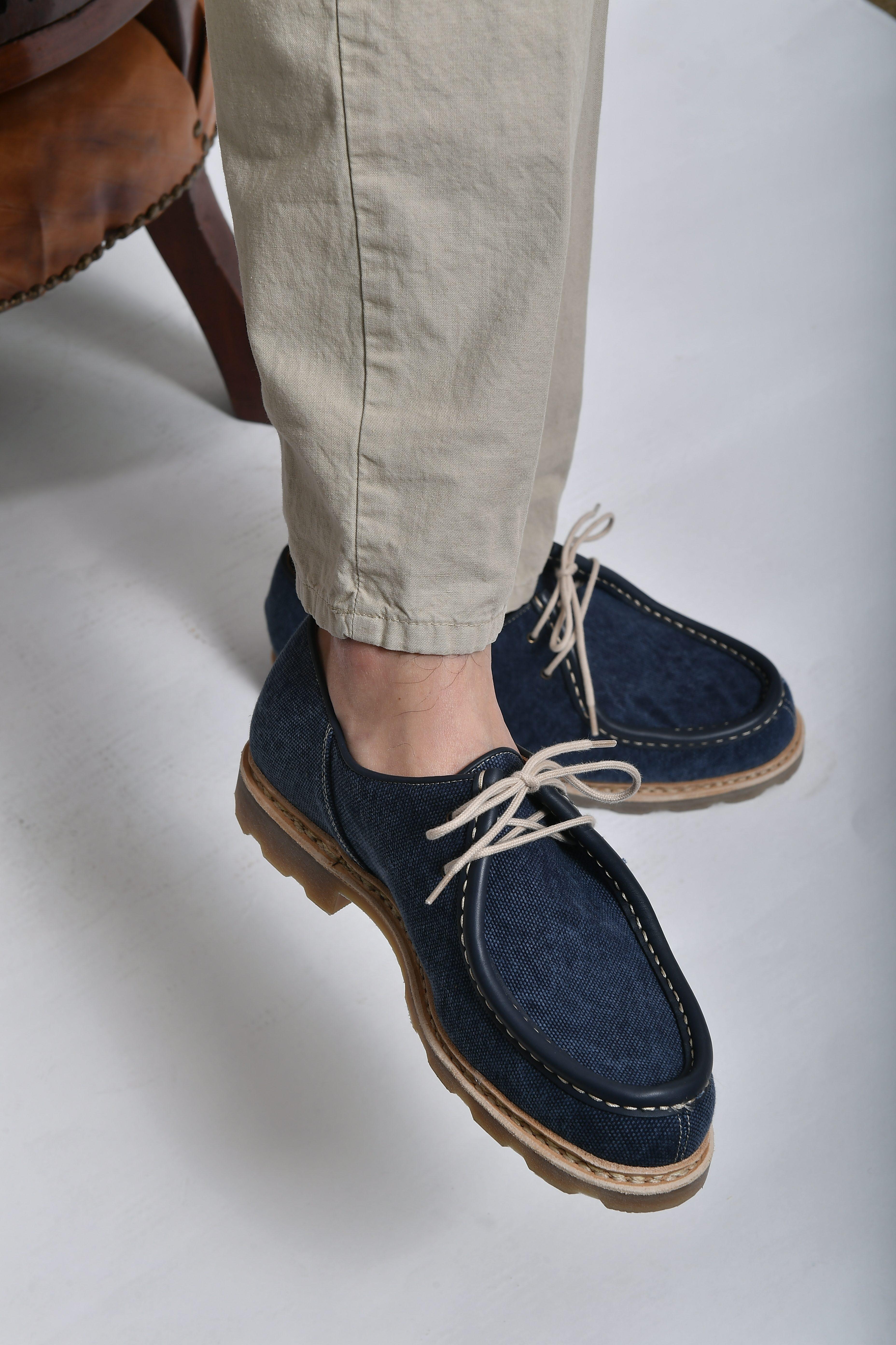 scarpa uomo allacciata paraboot