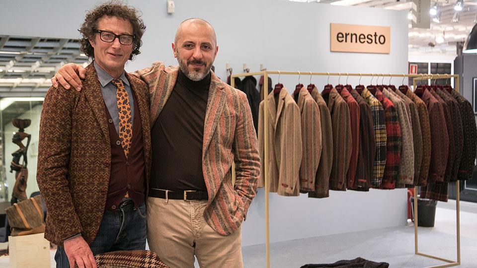 Vincenzo Reggiani e Enrico Mezzadri © Ernesto
