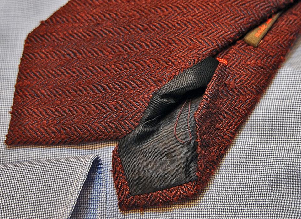 filo cravatta artigianale