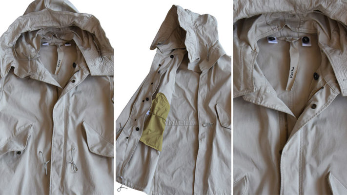 Ten c parka fishtail|parka fishtail ten c|dettaglio cappuccio parka ten c|ten c parka fishtail