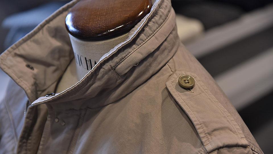 Fay Field Jacket details