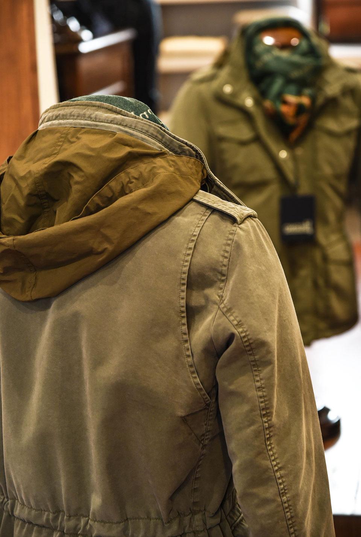 Dettaglio Field Jacket estiva Herno
