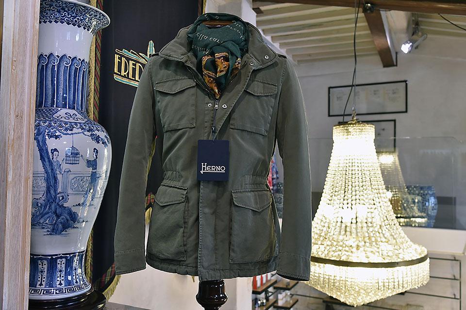Field Jacket estiva Herno