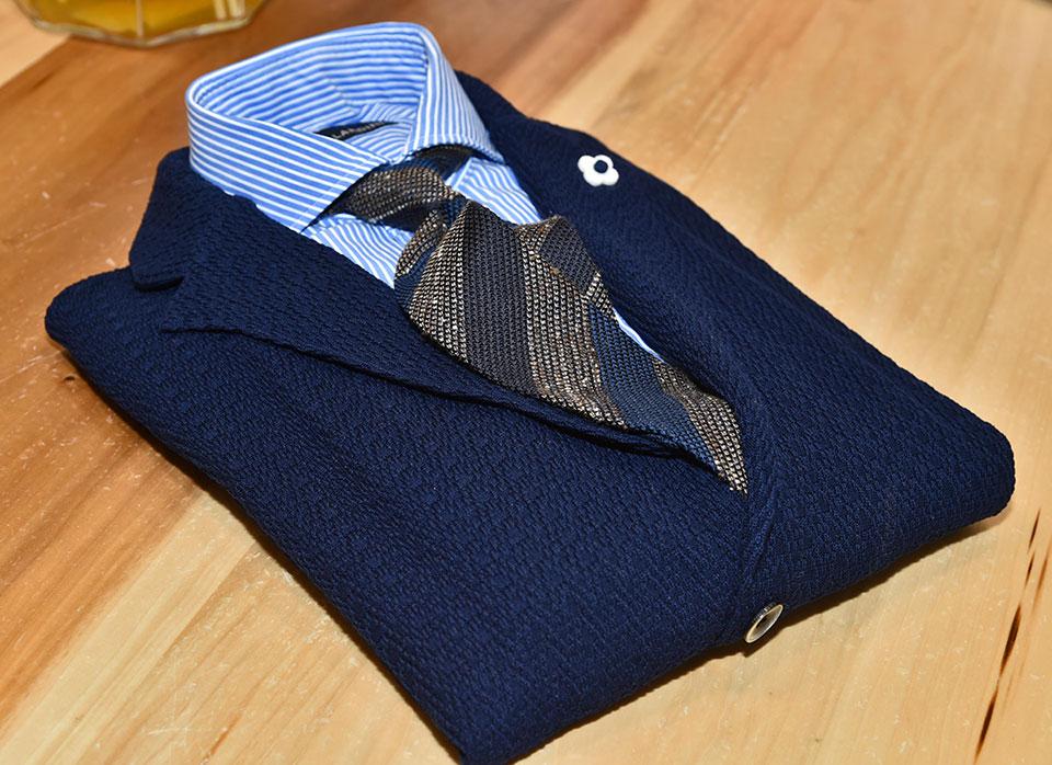 giacca in maglia eredi chiarini