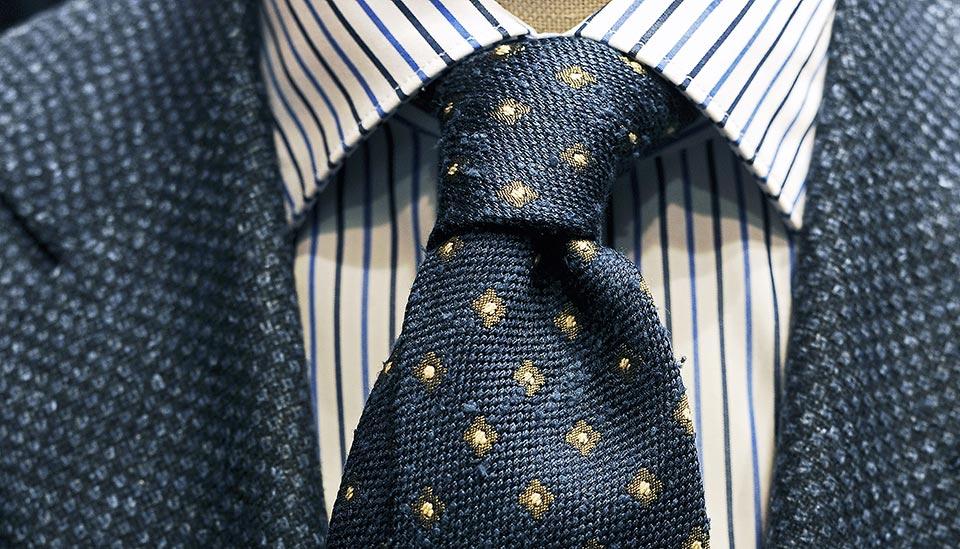 nodo cravatta sartoriale