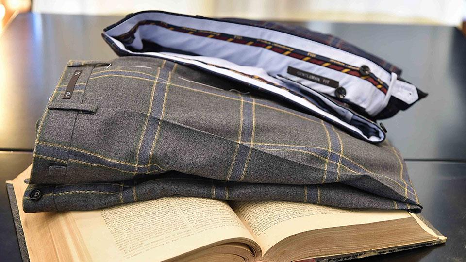 |pantaloni uomo autunno inverno 2017 2018 preppy style|pantaloni gentleman fit