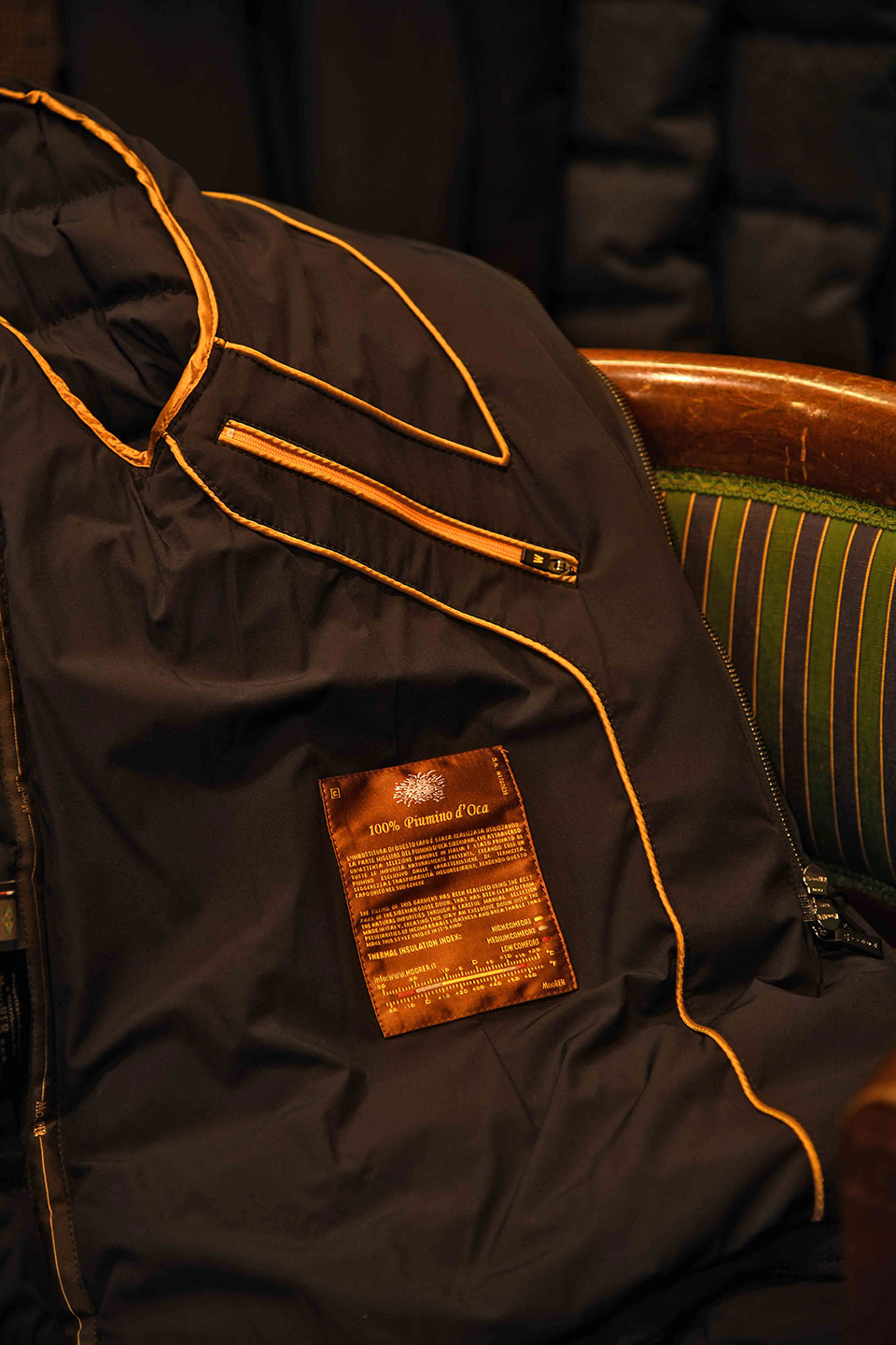 moorer down jacket details