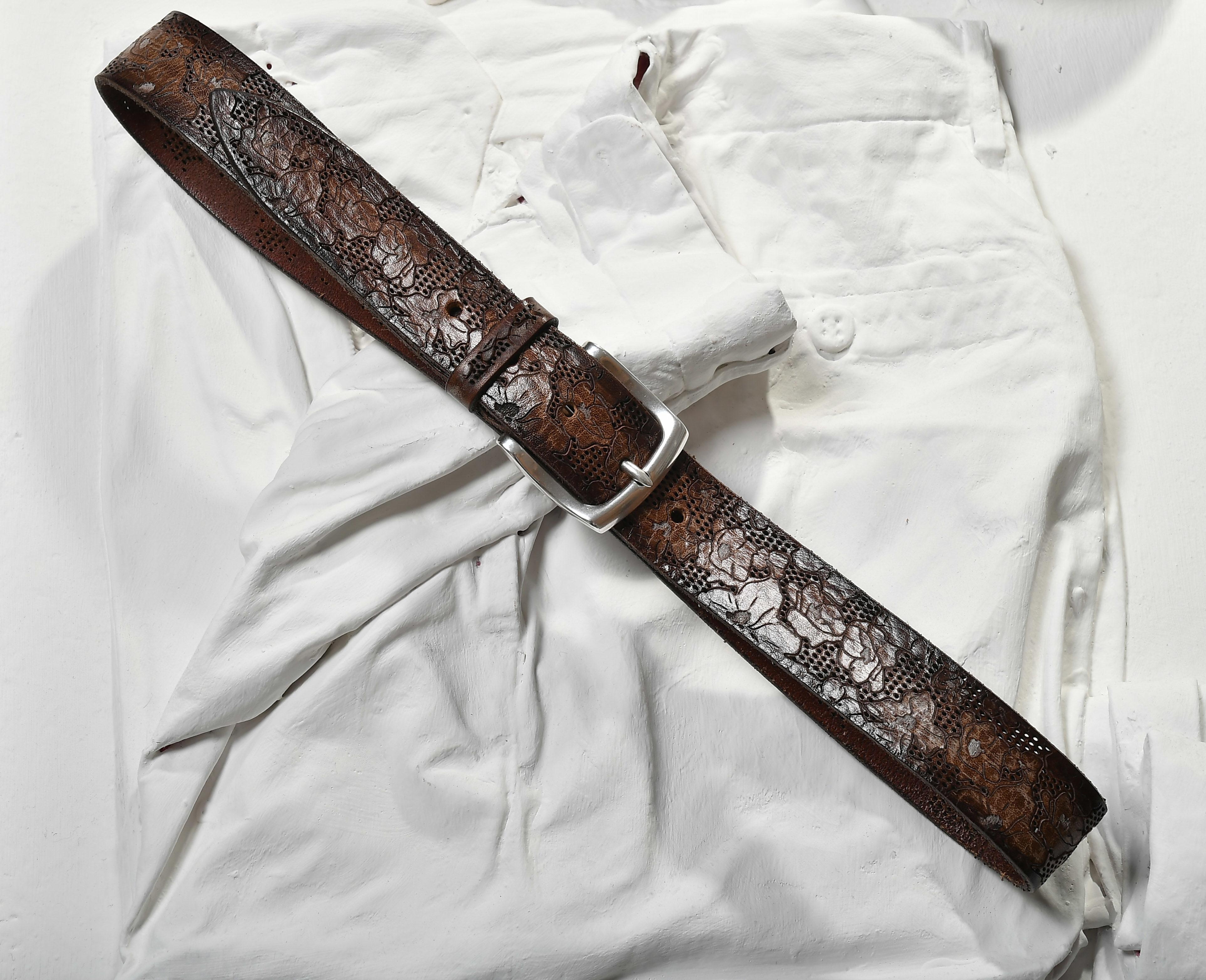 cintura maschile casual Orciani