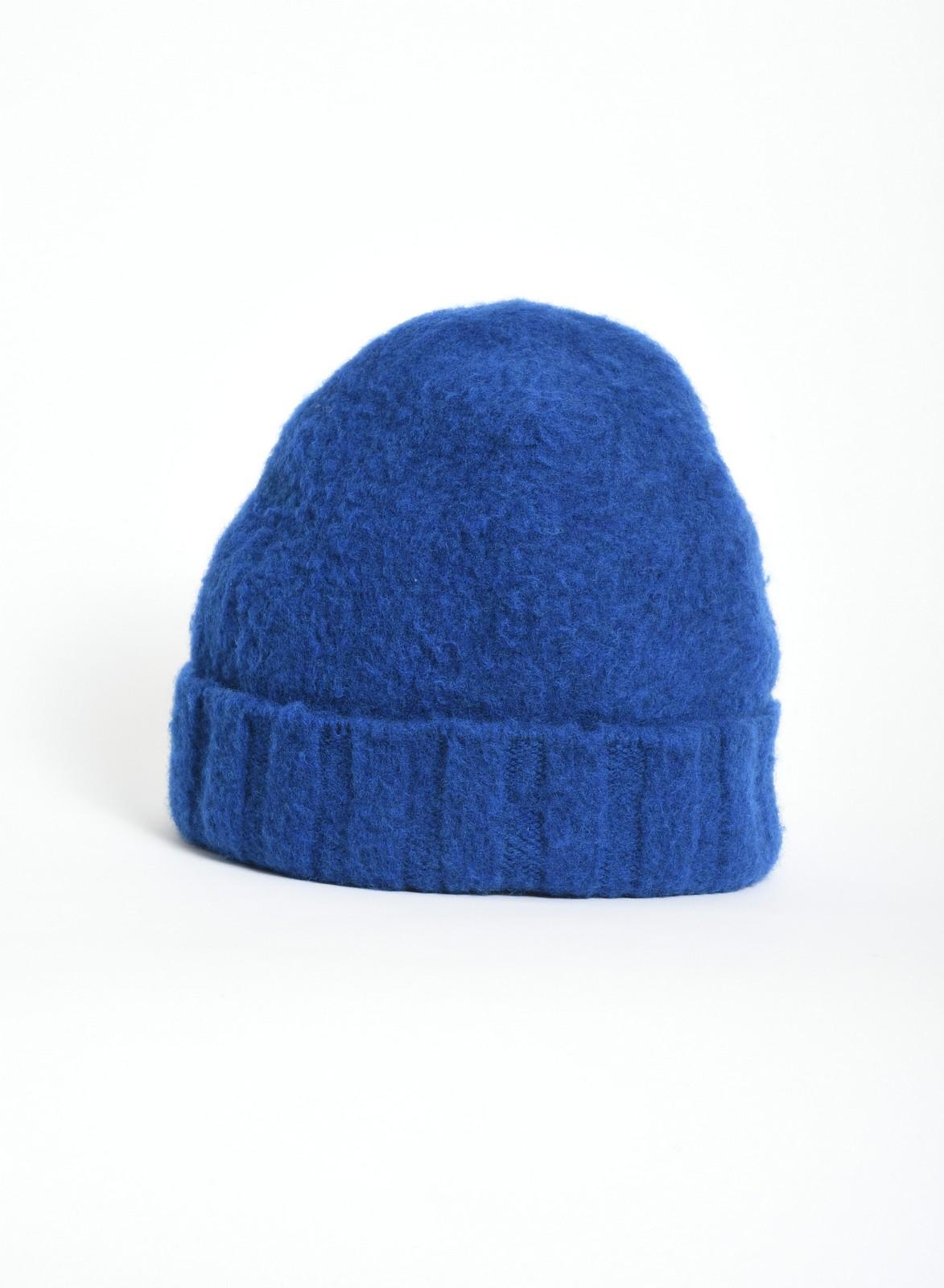 Drumohr cappellino blu royal a