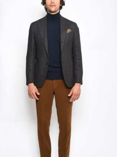 caruso giacca pied de poule