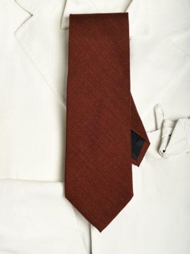 eredi chiarini cravatta ruggine