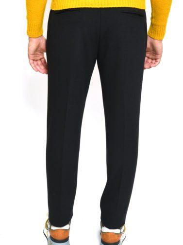 eredi chiarini pantalone jogger nero