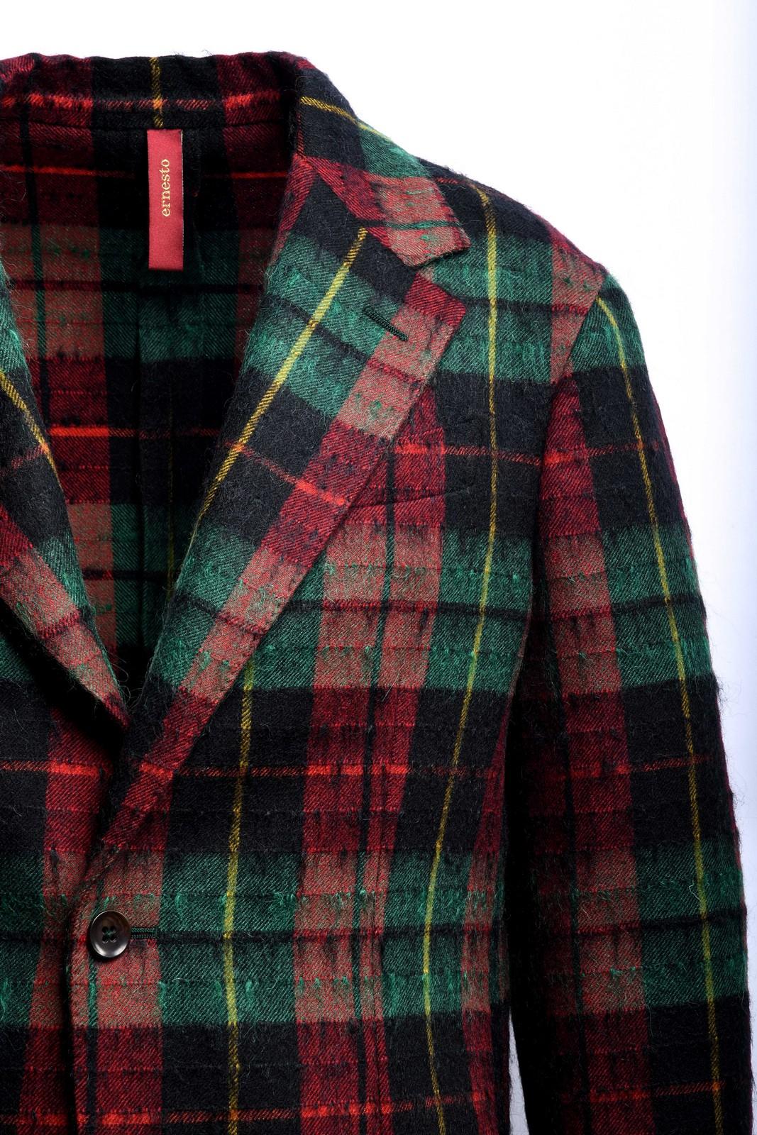ernesto giacca a quadri