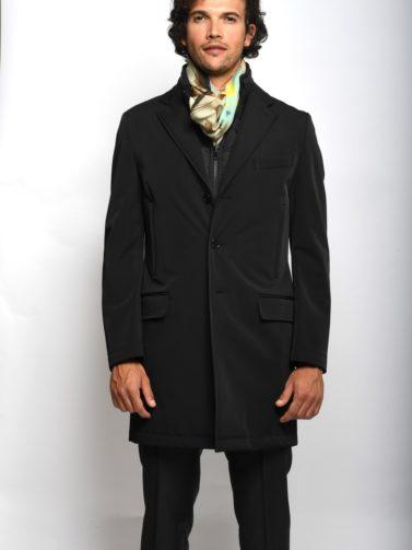 fay cappotto bernard stetch nero