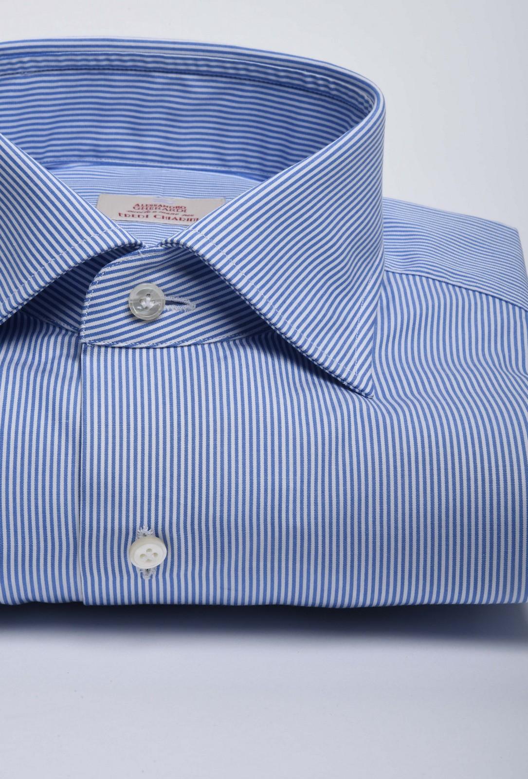gherardi camicia bastoncino blu