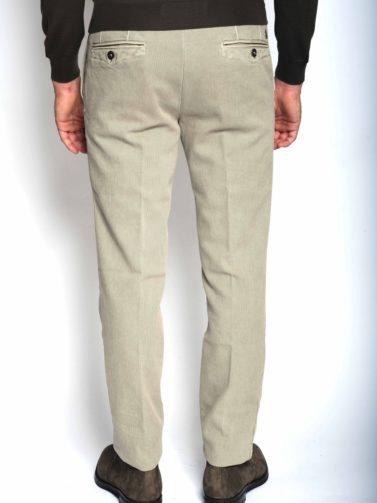incotex pantalone micro resca beige
