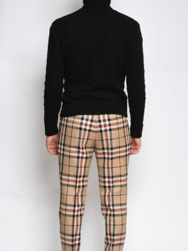 pt pantalone lana tartan