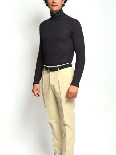 pantalone incotex fustagno beige