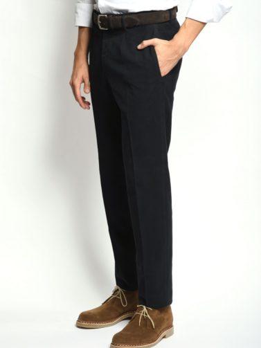 pantalone incotex fustagno blu
