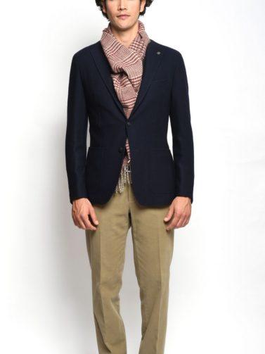 giacca tagliatore jersey blu