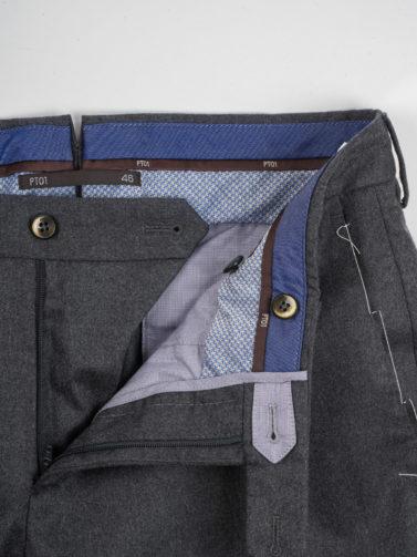 pt pantalone lana antracite