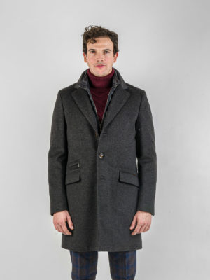 moorer cappotto harris antracite