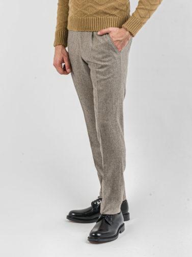 berwich pantalone flanella beige