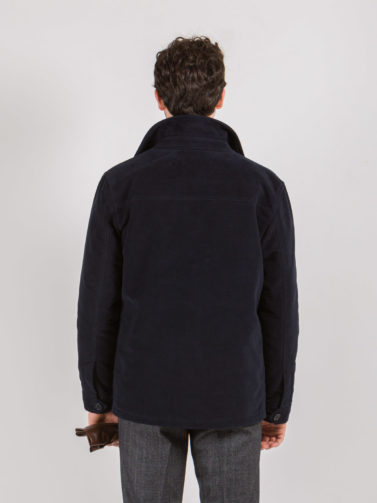 fay worker jacket blu