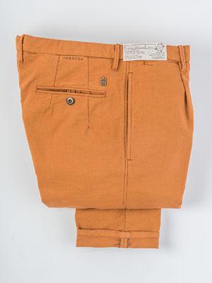 Incotex Pantaloni Arancio Primavera Estate 2020