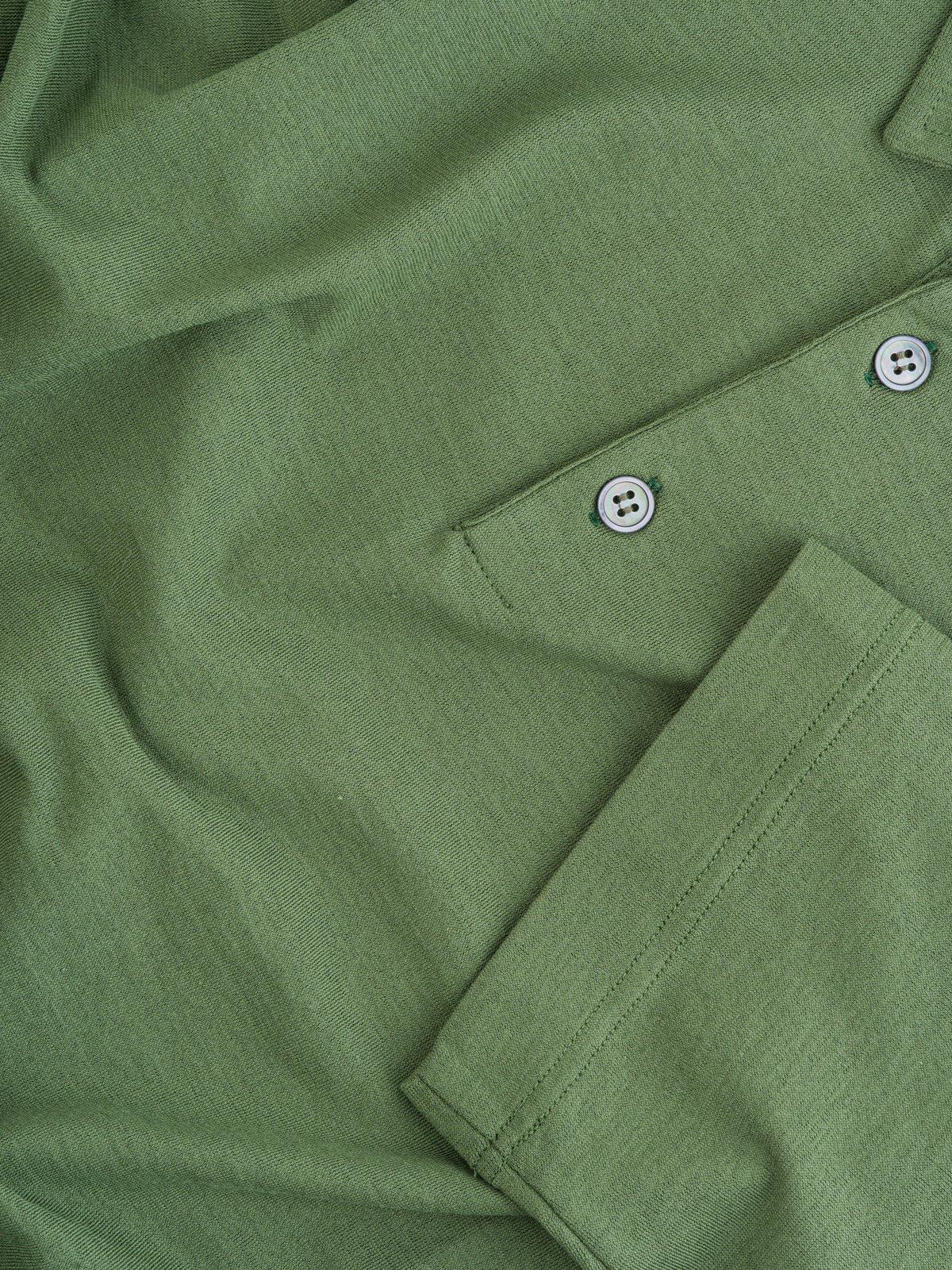 polo zanone ice-cotton verde