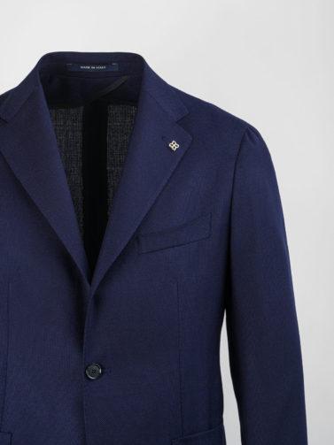 giacca tagliatore blu navy