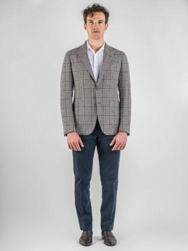 giacca tagliatore quadro bordeaux