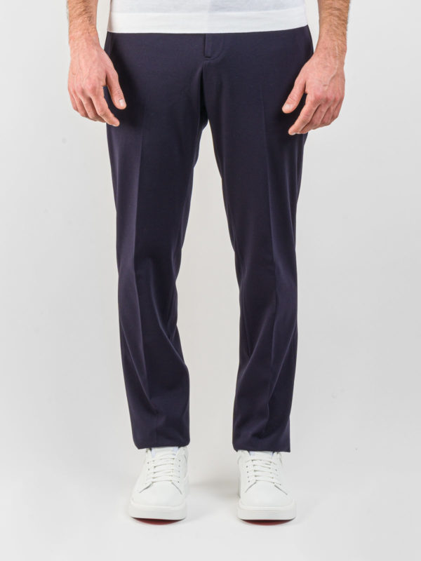 pantalone PT jogger navy