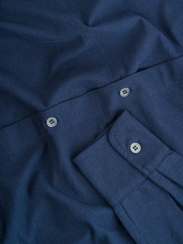 camicia zanone ice-cotton blu