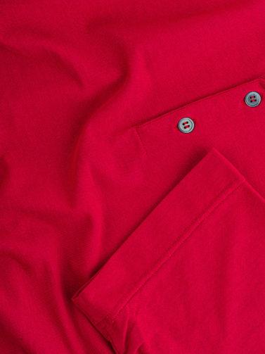 polo zanone ice-cotton rosso