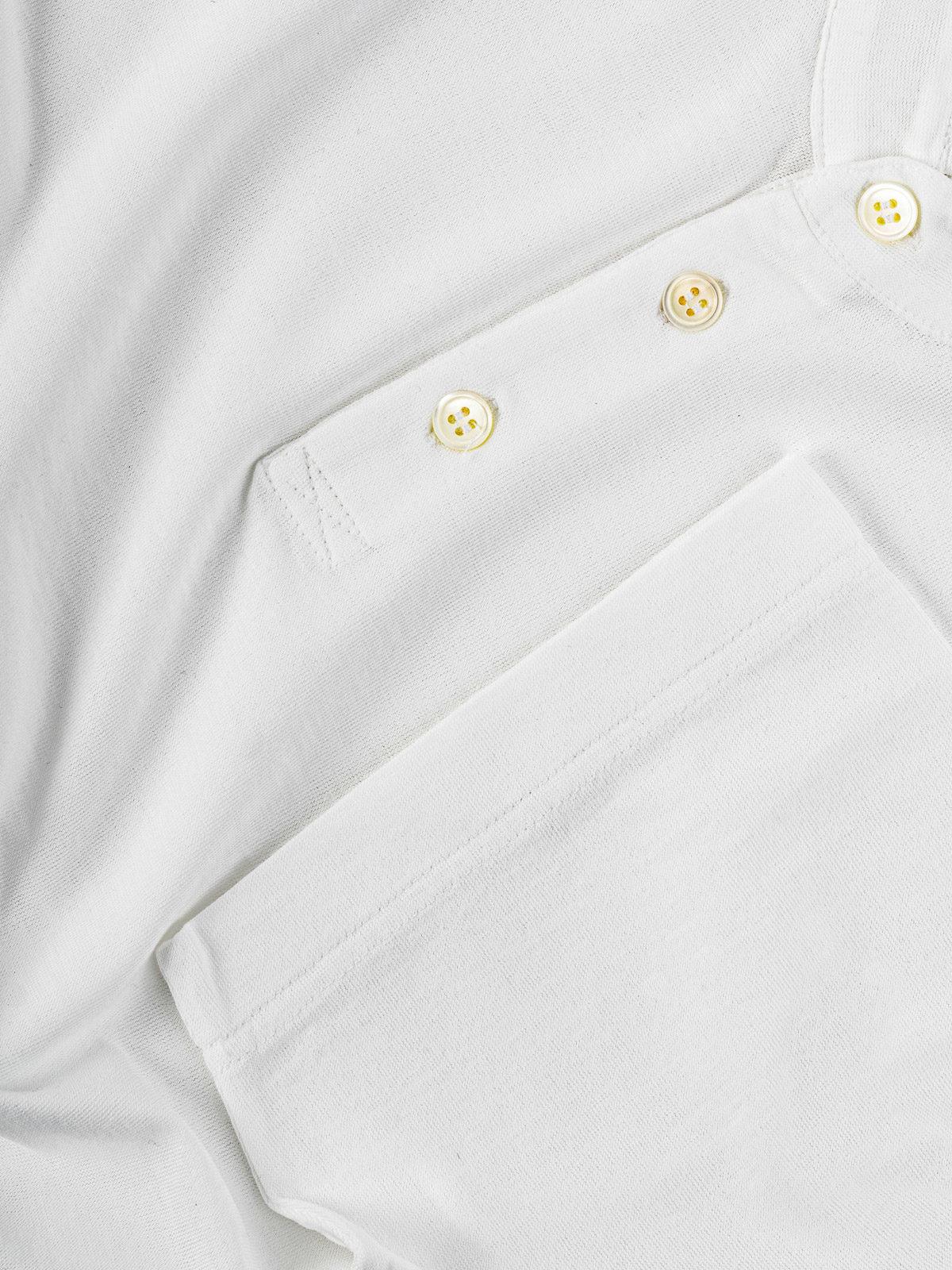 polo zanone ice cotton bianco
