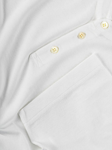 polo zanone ice cotton bianco