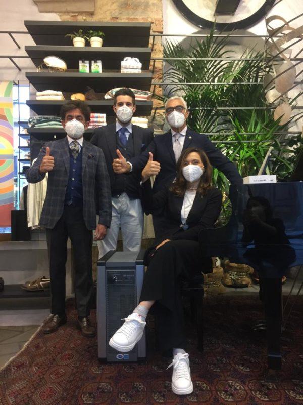 Eredi Chiarini team con depuratore d'aria