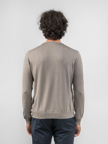 della ciana maglia cotone beige