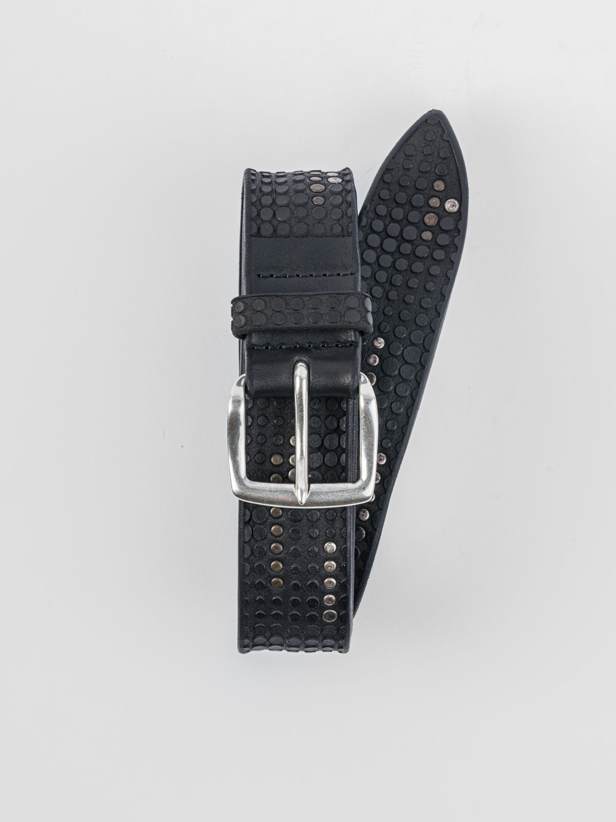ORCIANI  STUD BLACK BELT