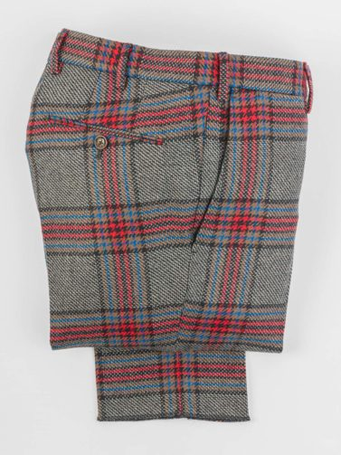 PT GREY AND RED WOOL