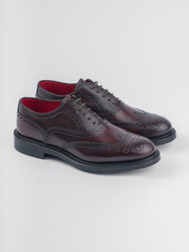 ORTIGNI OXFORD BROGUE CORDOVAN