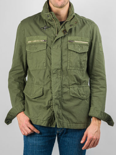 FAY FIRENZE FIELD JACKET VERDE
