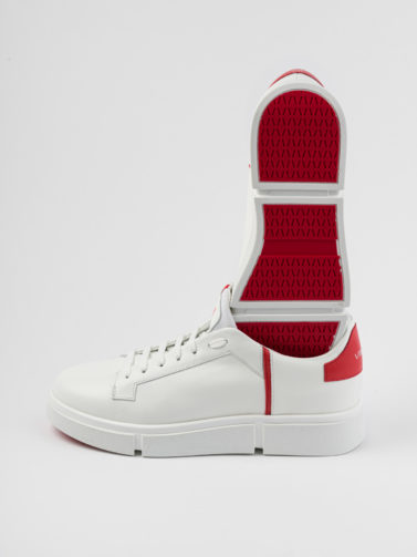 V DESIGN FLORENCE WHITE AND RED